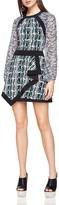 BCBGMAXAZRIA Tallulah Abstract-Print Dress