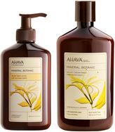 Ahava Honeysuckle Lavender, for Sensitive Skin[br]Velvet Body Cream Wash & Lotion Set