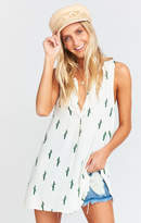 MUMU Tawny Tunic Tank ~ Fest Friends Blintz