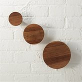 CB2 Set Of 3 Dot Coat Hooks