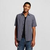 Men's Short Sleeve Woven Grey - Mossimo Supply Co.