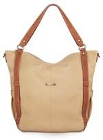 Timi & Leslie Infant 'Marcelle' Faux Leather Diaper Bag - Beige