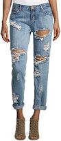 One Teaspoon Mid-Rise Baggie Boyfriend Jeans, Cobain
