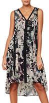 Mint Velvet Starla Print Cocoon Dress, Multi