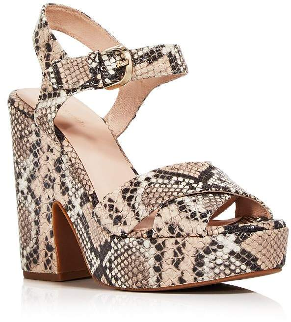 86644fb3b6 Snake Print Shoes Platform - ShopStyle