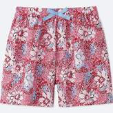 Uniqlo Girl's Easy Flare Printed Shorts