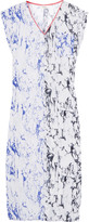 Lemlem Hana printed silk-crepe coverup