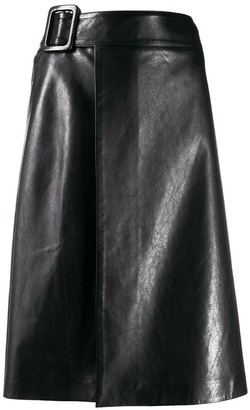 Ermanno Scervino A-line wrapped skirt