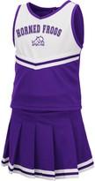 Colosseum Girls Toddler Purple TCU Horned Frogs Pinky Cheer Dress