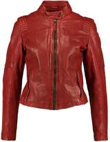 Gipsy ELYSSA Leather jacket ox red