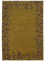 "Oriental Weavers Allure 1'11"" x 3'3"" Machine Woven Rug in Gold"