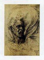 Michelangelo 1art1 Posters Buonarroti Poster Art Print - La Furia (20 x 14 inches)
