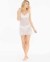 Soma Intimates Embroidered Chiffon Chemise with Panty