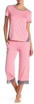 Kensie Print Capri Pajama Pant