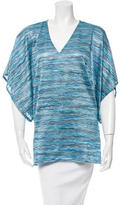 Alexis Patterned Short Sleeve Top