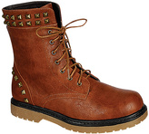 Camel Studded Daily Boot