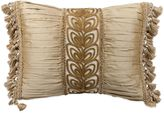 Austin Horn Collection Angelina Shirred Oblong Throw Pillow