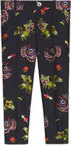 Gucci Children's monsters jacquard taffeta pant