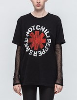 TOUR MERCH Red Hot Chili Peppers Vintage Distressed T-shirt