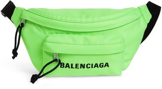 Balenciaga Logo Canvas Belt Bag