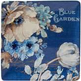 Certified International Indigold Floral Square Platter