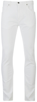 Helmut Lang Core Twill Skinny Jeans White