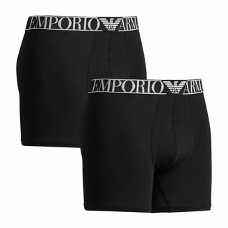 Emporio Armani Men's Midwaist 2pack Boxer Underwear