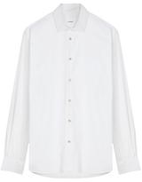 Jigsaw Slim Cutaway Poplin Shirt, White