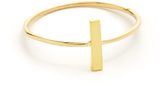 Jennifer Meyer Jewelry 18k Gold Bar Ring