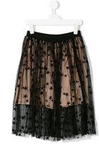 Stella McCartney star embroidered skirt