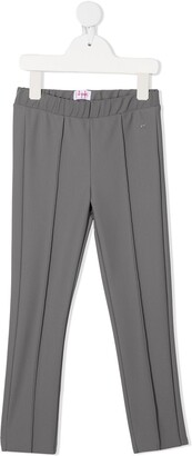 Il Gufo High-Waisted Straight Leg Trousers