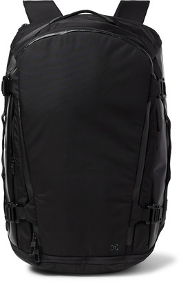 Lululemon More Miles Convertible Canvas And Nylon Backpack