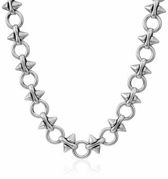 Alex and Ani Spear and Circle Chain 20 in. Magnetic Necklace RS