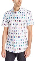 Robert Graham Men's Saline Lakes Short Sleeve Button Down Shirt