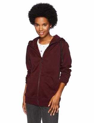 Volcom womensCascara Baselayer Hydrophobic Fleece Hooded Sweatshirt Hooded Sweatshirt - purple - Large
