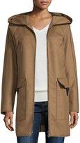 Peuterey Hooded Wool-Blend Jacket, Brown