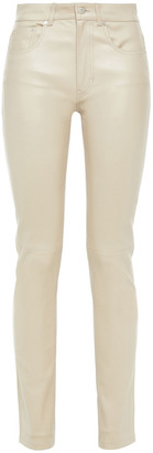 Joseph Cloud Leather Slim-leg Pants