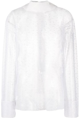 Viktor & Rolf Fancy Bow lace blouse