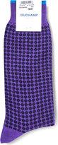 Duchamp Spotted cotton-blend socks