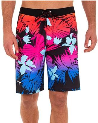 Hurley 18 Phantom JJF 6 Aloha Friday Boardshorts (Black) Men's Swimwear