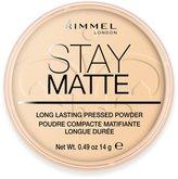 Rimmel Stay Matte Long Lasting Pressed Powder - Transparent