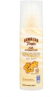 Hawaiian Tropic Silk Hydration Air Soft Ultra-Light Sun Lotion SPF50 150ml