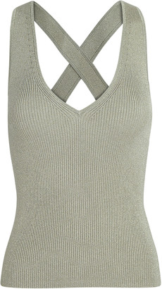 Intermix Jordan Cross Back Tank Top