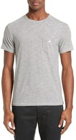 Todd Snyder Men's Micro Stripe Pocket T-Shirt