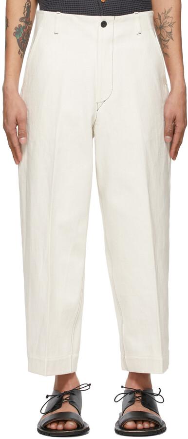 Kuro Off-White J. Press Originals Edition Straight Leg Jeans