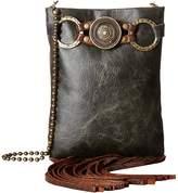 Leather Rock Gemma Crossbody Cross Body Handbags