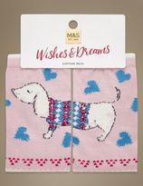 Marks and Spencer Cotton Rich Sausage Dog Socks