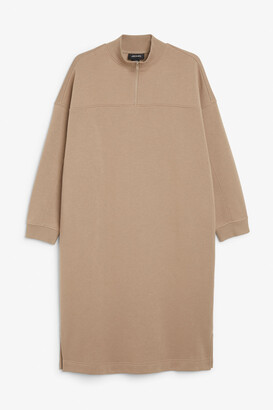 Monki Long sweater dress