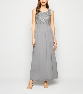 New Look Mela Sequin Maxi Dress