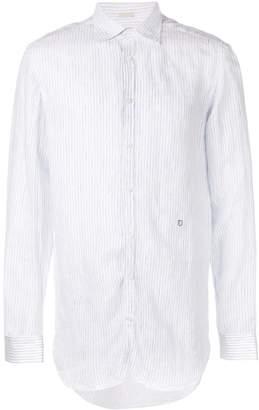 Massimo Alba striped long-sleeve shirt